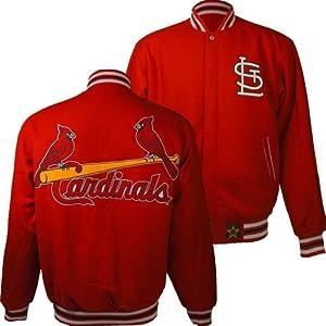St. Louis Cardinals MLB Reversible J.H. Design Jacket (Red) by J.H. Design