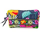 Vera Bradley Small Cosmetic in Jazzy Blooms