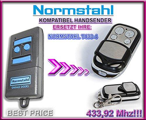 NORMSTAHL T433-4 Kompatibel Handsender, 433.92Mhz rolling code keyfob