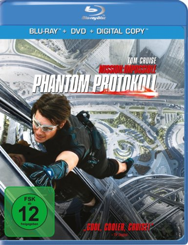 Mission: Impossible - Phantom Protokoll (inkl. DVD + Digital Copy) [Blu-ray]