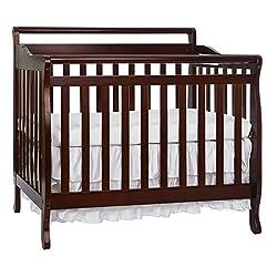 Dream On Me 4-in-1 mini Convertible Crib in Cherry,626-C