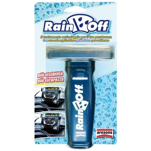 RAIN OFF auto, anti pioggia, spazzole vetri auto.