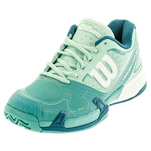 Wilson Ruash Pro 2.0, Women's Tennis Shoe,IglluBlue/AzureBlue/UL Wil