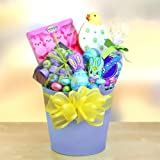 Easter Hop Gift Basket of Easter Candy for Boys or Girls
