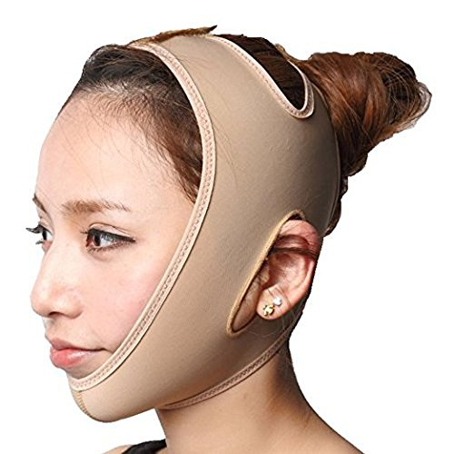 KOLIGHT® Anti Wrinkle V Full Face Chin Cheek Lift up Slim Slimming Thin Mask Belt Band Strap (M)