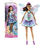 "Mattel Year 2013 Barbie ""Fashion Meets Fairytale"" Series 12 Inch Doll Set Teresa As Fairy (Bcp21) In Blue Lavender..."