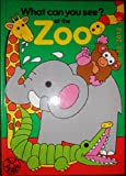 img - for What Can You See? At the Zoo book / textbook / text book