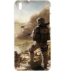a AND b Designer Printed Mobile Back Cover / Back Case For HTC Desire 816 (HTC_816_3D_2094)