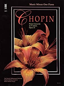 Chopin - Concerto In F Minor Op 21 2-cd Set from Music Minus One