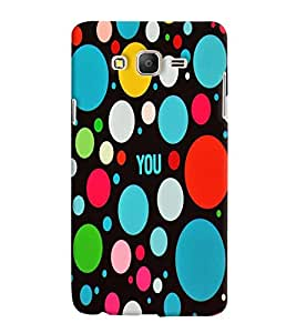 Samsung Galaxy ON 5 MULTICOLOR PRINTED BACK COVER FROM GADGET LOOKS