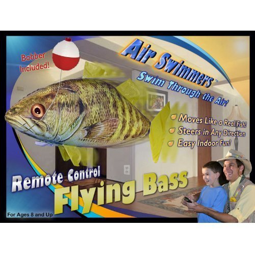 William Mark 267 Air Swimmers Remote Control Flying Bass