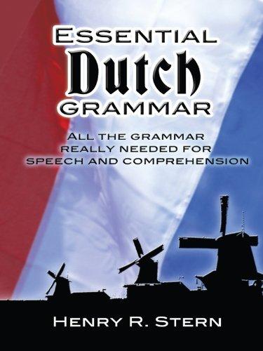 Essential Dutch Grammar (Dover Language Guides Essential Grammar), by Henry R. Stern