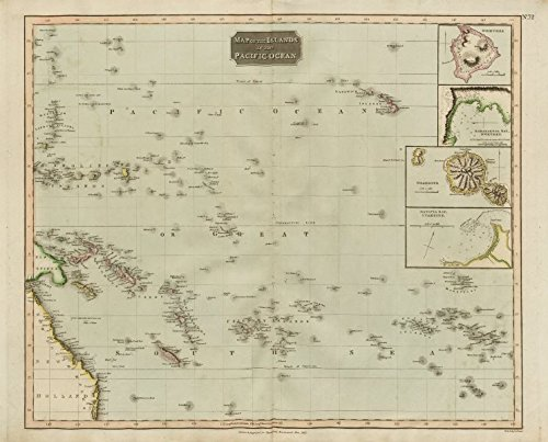islands-in-the-pacific-ocean-owhyhee-hawaii-otaheite-tahiti-thomson-1817-old-antique-vintage-map-pri