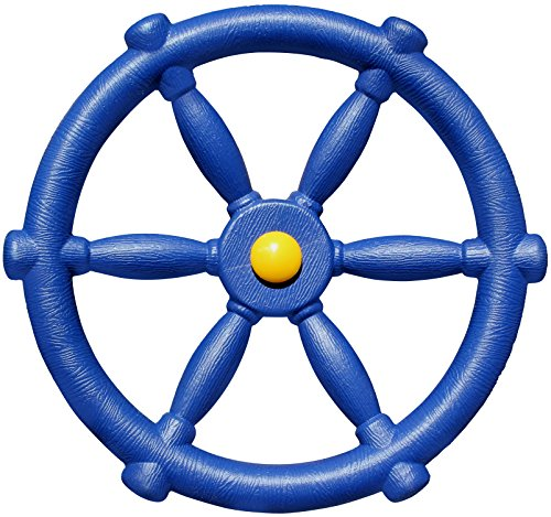 Jungle Gym Kingdom Pirate Ships Wheel - Blue