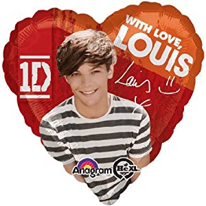 1 BALLOON LOUIS one DIRECTION from anagram