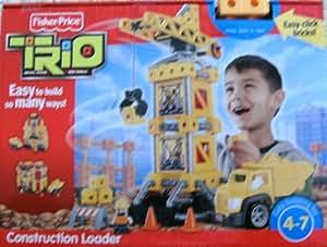 Fisher Price TRIO Construction Loader