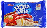 Kellogg's Pop Tarts Frosted Strawberry Twin Pack 104 g (Pack of 1, Total 6 Pop Tarts)