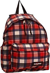 Eastpak Unisex-Adult  Backpack Checkbook Red