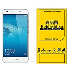 Kohinshitsu Platinum Series Tempered Glass Screen Protector for Huawei Honor 5C Mobile Phone