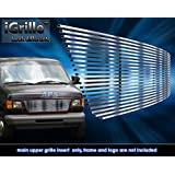 Stainless Steel 304 Billet Grille Grill Custome Fits 1992-2006 Ford Econoline Van
