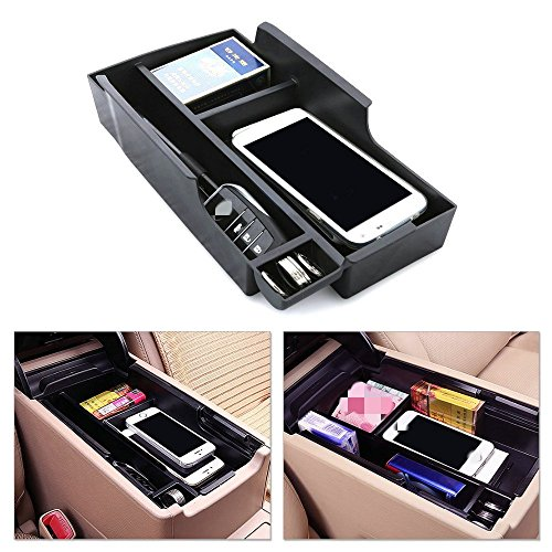 Sporthway® Car Armrest Secondary Console Storage Box Glove Pallet Container For 2012-2015 Toyota Camry (XV50) (Camry Console compare prices)