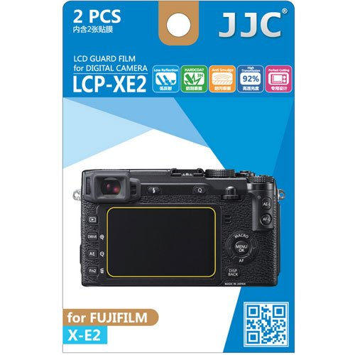 Jjc Lcp-Xe2 Ultra Hard Polycarbonate Lcd Film Screen Protector For Fujifilm X-E2 (2 Kits)