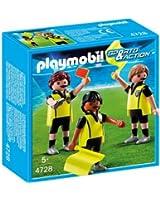 Playmobil - 4728 - Jeu de construction - Trio arbitral