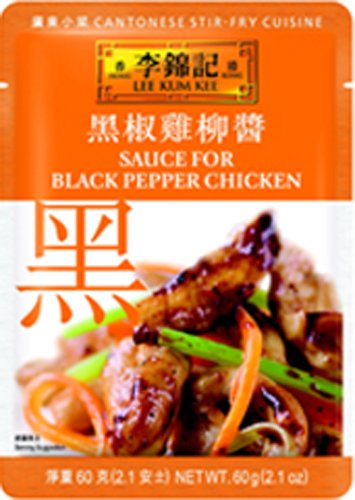 Lee Kum Kee Sauce For Black Pepper Chicken, 2.1-Ounce