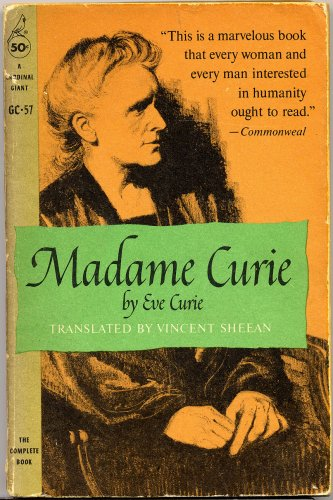 Madame Curie (A Cardinal Giant GC-57), Eve Curie, translated by Vincent Sheean