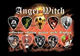 Angel Witch Premium Celluloid Guitar Picks Display A5 Sized