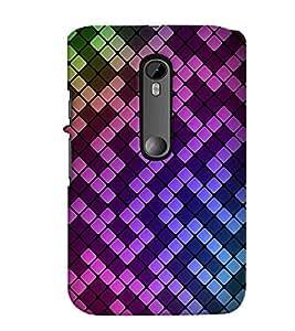 printtech 3D Pattern Back Case Cover for Motorola Moto G Turbo Edition
