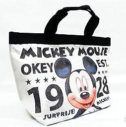 Retro Vintage Disney Mickey Mouse Multi-purpose Shopping Bag Tote Purse Handbag.