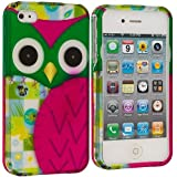 Owl Snapon Hard Phone Protector Cover Skin Case for Apple