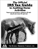 img - for By IRS The Official IRS Tax Guide to Auditing Horse Activities [Paperback] book / textbook / text book