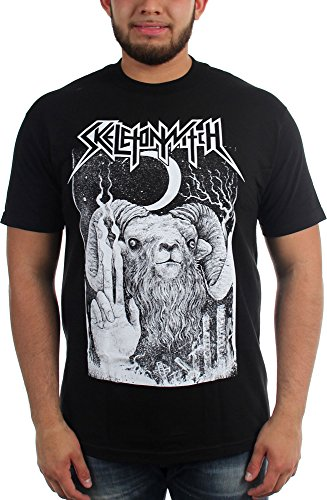 Skeletonwitch-Unmerciful Goat-Maglietta da uomo Nero  nero