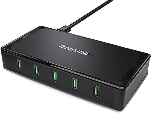 Tronsmart 10A/90W 5-Port USB Charger