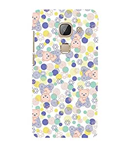 Cute Kitty Cycle 3D Hard Polycarbonate Designer Back Case Cover for LeEco Le Max 2 :: Letv Le Max 2