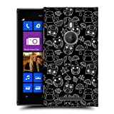 Head Case Mushroom And Autumn Leaves Doodle Owl Back Case For Nokia Lumia 925