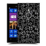 Head Case Mushroom And Autumn Leaves Doodle Owl Back Case For Nokia Lumia 925
