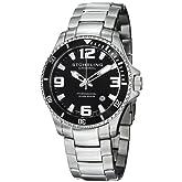 Stuhrling Original Men's Aquadiver Swiss Quartz Watches