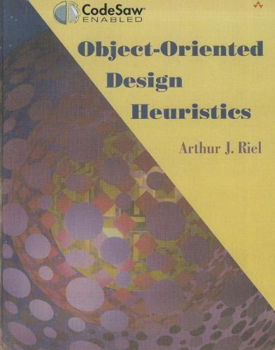 Free full text books download Object-Oriented Design Heuristics iBook 9780201633856 by Arthur J. Riel English version