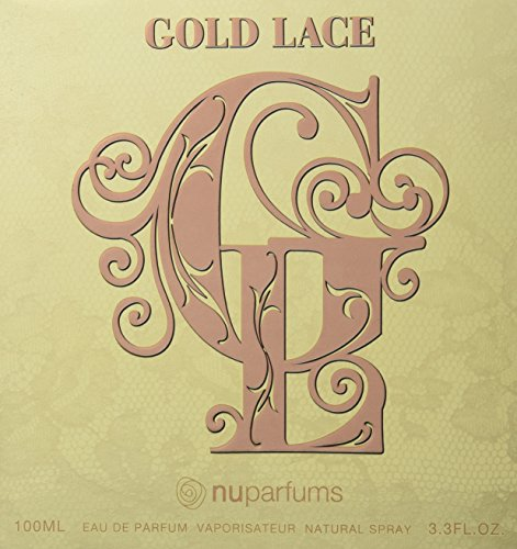 Nuparfums Group Gold Lace Eau de Parfum Spray, 3.4 Ounce