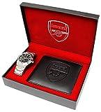 [フットボールウォッチ]FOOTBALL WATCHES 腕時計 アーセナルFC オフィシャル ギフトボックス 二つ折り短財布 メンズ GA5752SET [並行輸入品]