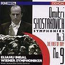 Shostakovich: Symphonies No. 9 & No. 3