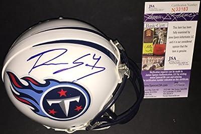 Ryan Succop Tennessee Titans Autographed Signed Mini Helmet JSA COA