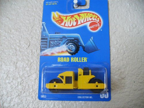Hot Wheels Road Roller All Blue Card #55 - 1