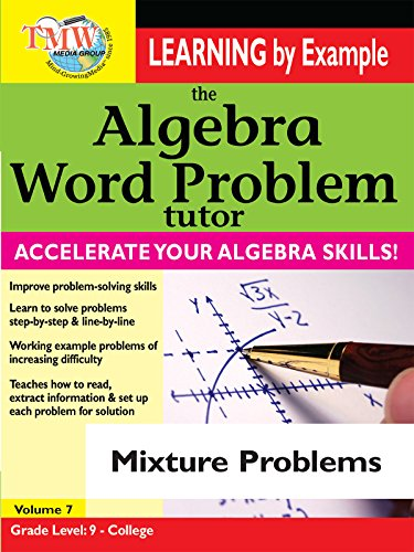 Algebra Word Problem: Mixture Problems