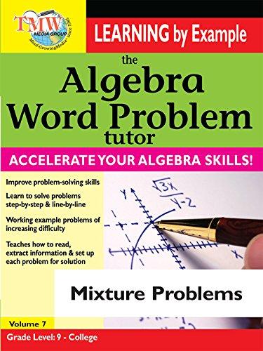 Algebra Word Problem: Mixture Problems