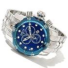 Invicta Men's 10804 Venom Reserve Chronograph Blue Textured Dial Stainless Steel Watch
