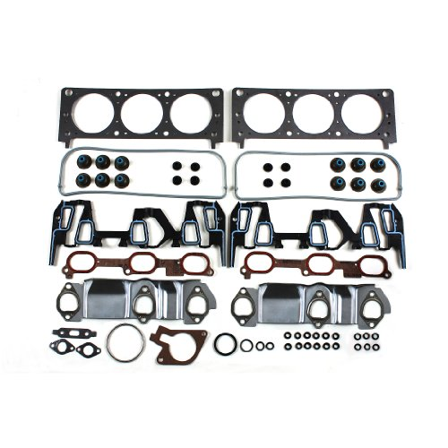 CNS EHG0080 Head Gasket Set for GM 3.4L V6 207 Buick Rendezvous Chevrolet Impala Monte Carlo LS Venture Pontiac Aztek Grand AM Montana Oldsmobile Alero Silhouette VIN E 00-03 (Chevy Venture Engine compare prices)